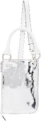 ADER error Silver & White Swip Bag