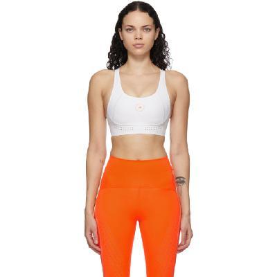 adidas by Stella McCartney White TruePurpose Medium Support Sports Bra