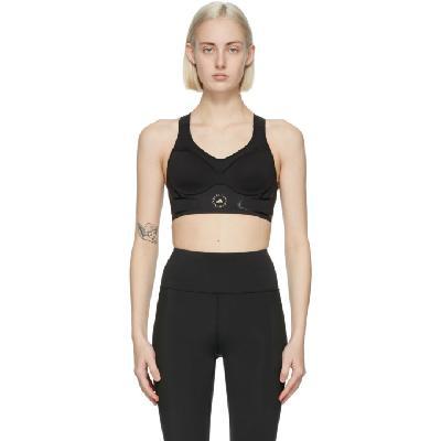 adidas by Stella McCartney Black TruePace Sports Bra
