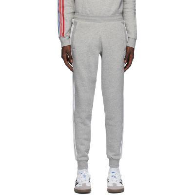 adidas Originals Grey 3-Stripes Lounge Pants