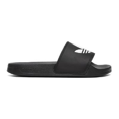 adidas Originals Black Adilette Lite Pool Slides