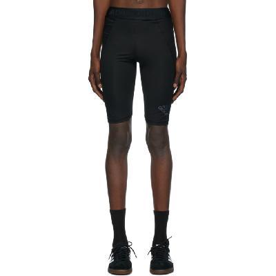 adidas Originals Black Alphaskin Sport Tight Shorts