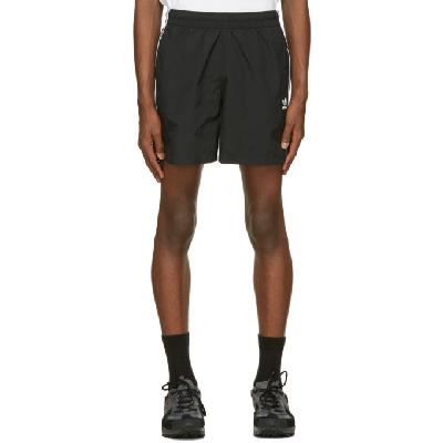 adidas Originals Black 3-Stripe Swim Shorts