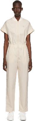 adidas Originals Off-White No-Dye Jumpsuit