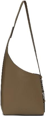 Aesther Ekme Taupe Demi Lune Bag