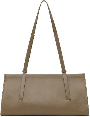 Aesther Ekme Taupe Baguette Bag