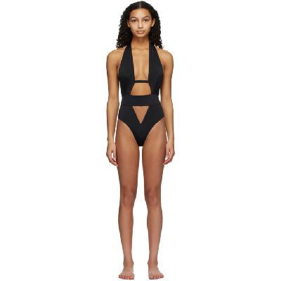 Agent Provocateur Black Anja One-Piece Swimsuit
