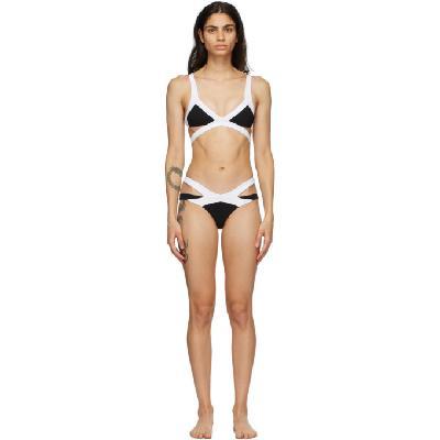 Agent Provocateur Black & White Mazzy Bikini