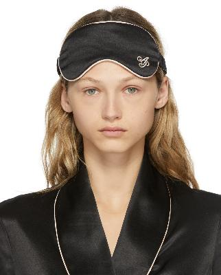 Agent Provocateur Black Silk Classic PJ Eye Mask