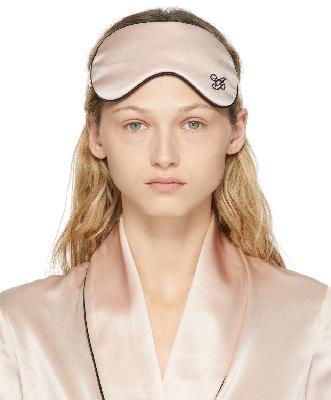 Agent Provocateur Pink Silk Classic PJ Eye Mask