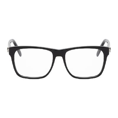 Alexander McQueen Black Square Glasses