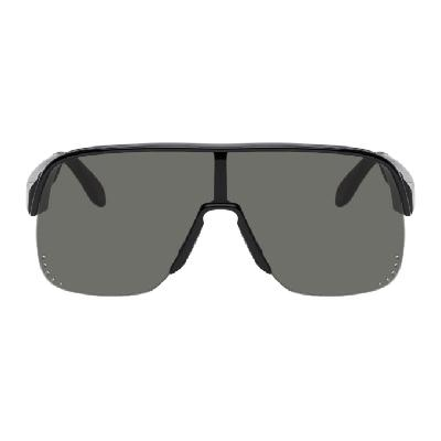 Alexander McQueen Black Mask Sunglasses