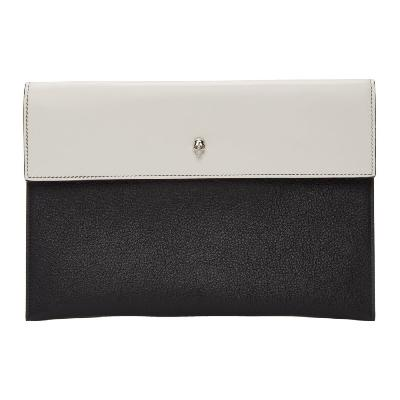 Alexander McQueen SSENSE Exclusive Black Envelope Pouch