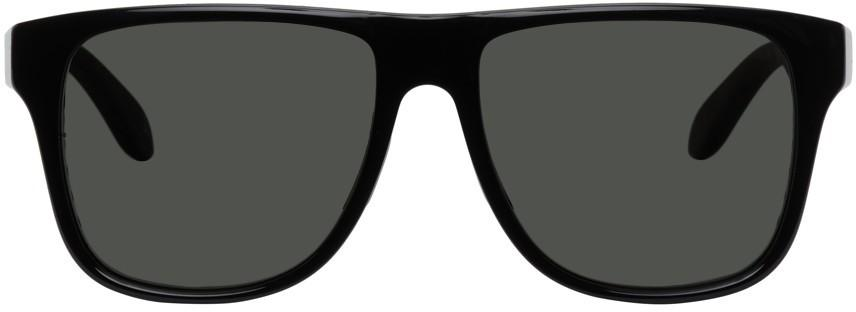 Alexander McQueen Black Court Sunglasses