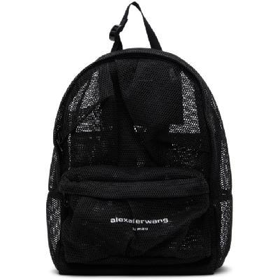 Alexander Wang Black Mesh Wangsport Backpack