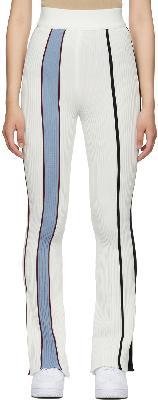 AMBUSH Off-White Cotton Rib Knit Lounge Pants