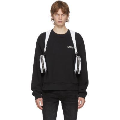 AMIRI White Nylon Harness Bag