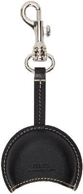 A.P.C. Black Amber Keychain
