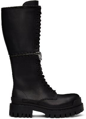 Balenciaga Black Master Boots