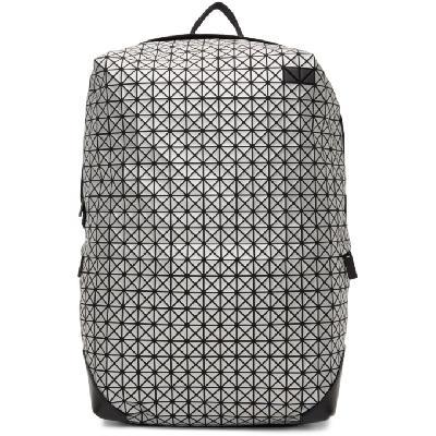 Bao Bao Issey Miyake Silver Liner Backpack