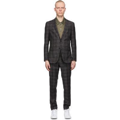 Boss Grey Novan6/Ben2 Suit