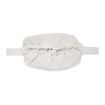 Bottega Veneta White 'The Body' Pouch Bag