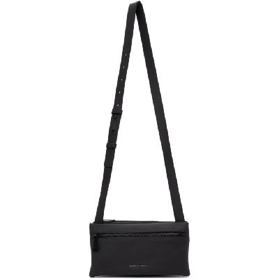Bottega Veneta Black Fluid Messenger Bag