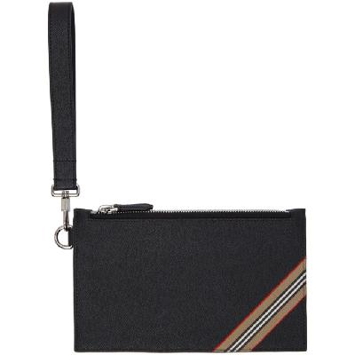 Burberry Black Small Laurie Pouch