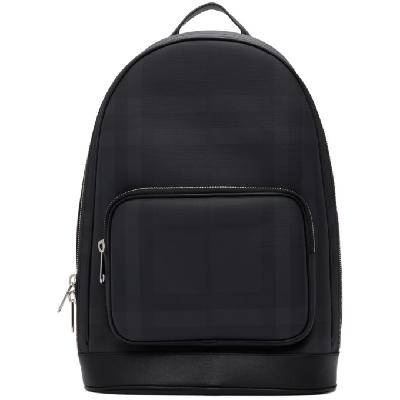 Burberry Black London Check Rocco Backpack