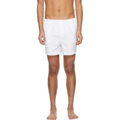 Casablanca White Logo Swim Shorts