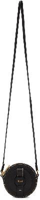 Chloé Black Darryl Small Round Bag