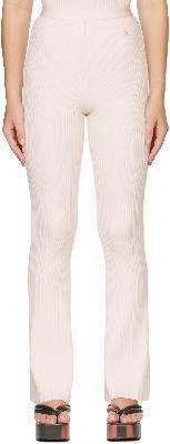 Courrèges Pink Rib Lounge Pants