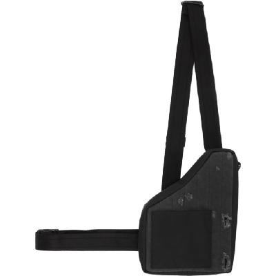 Diesel Red Tag Black A-COLD-WALL* Edition Denim Holster Pouch