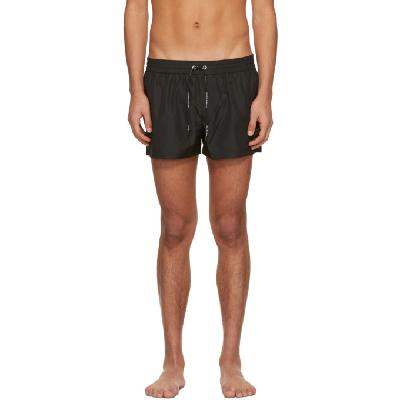 Dolce & Gabbana Black Short Swim Shorts