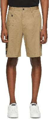 Dolce & Gabbana Tan Pin-Up Shorts