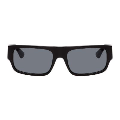 Dries Van Noten Black Linda Farrow Edition 189 C1 Sunglasses