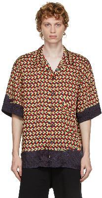 Dries Van Noten Multicolor Viscose Printed Shirt