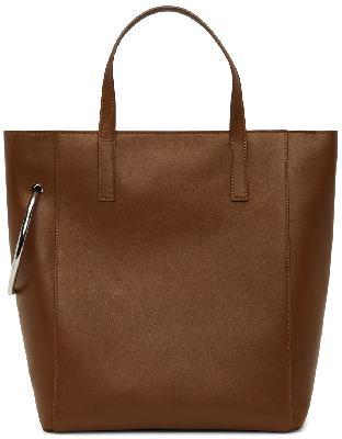 Dries Van Noten Brown Leather Tote