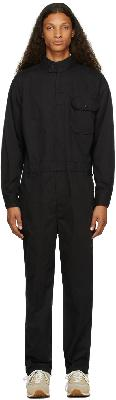 Engineered Garments Black Twill Racing Jumpsuit
