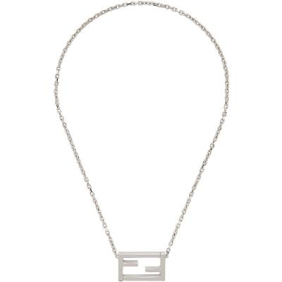 Fendi Silver 'Forever Fendi' Necklace