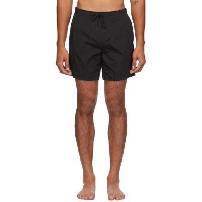 Fendi Black 'Forever Fendi' Moisture-Reactive Swim Shorts
