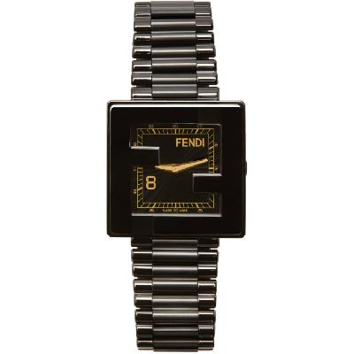 Fendi Black 'Fendi Mania' Watch