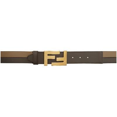 Fendi Brown 'Forever Fendi' Belt