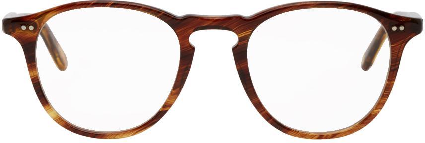 Garrett Leight Brown Hampton Glasses