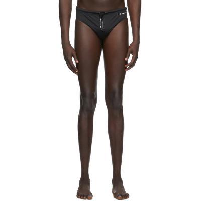 Givenchy Black Logo Swim Briefs