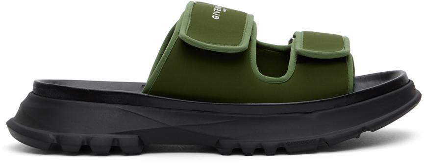 Givenchy Khaki Spectre Sandals