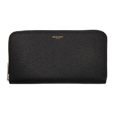 Givenchy Black Eros Continental Wallet