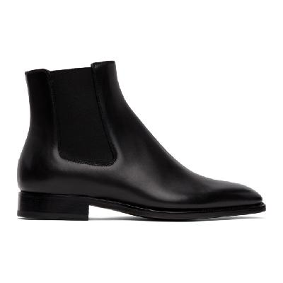 Givenchy Black Classic Chelsea Boots