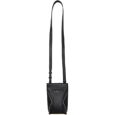 Givenchy Black Leather Antigona Phone Pouch