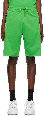 Givenchy Green Logo Tape Shorts